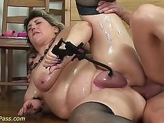 Extreme porn videos - fat girl creampie